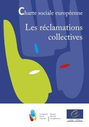 Brochure sur la procédure des réclamations collectives