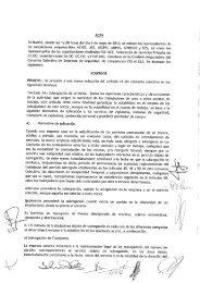 ACTA - CCOO