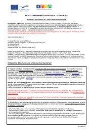 Wymagana dokumentacja i sposób składania wniosków - Grundtvig