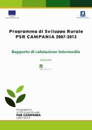 Rapporto di valutazione Intermedia 2010 - Regione Campania
