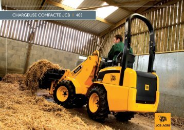 403 chargeuse compacte_AGRI - Carma Andenne | jcb