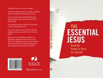 The Essential Jesus-text-ART - Best Sellers (Year)