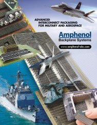 advanced interconnect packaging for military and aerospace