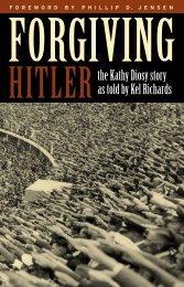 Forgiving Hitler/Text ART - Matthias Media