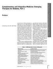 Complementary and Integrative Medicine: Emerging Therapies for ...