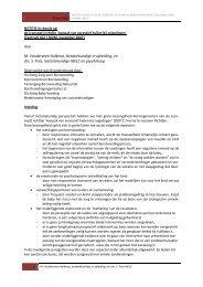 Notitie in reactie op de (concept) Richtlijn ... - Borstvoeding.com