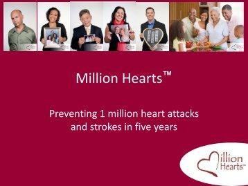 HHS Million Hearts Sample Slides