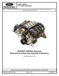 Available (PDF) - Ford Racing