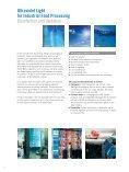Ultraviolet Light for Industrial Food Processing ... - Heraeus Noblelight - Page 2