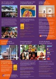 10 Jahre Buchheim Museum der Phantasie