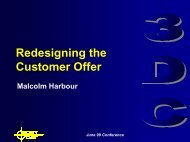 Redesigning the Customer Offer - 3DayCar