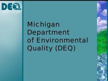 Energy workshop DEQ Presentation - www.NWM.org