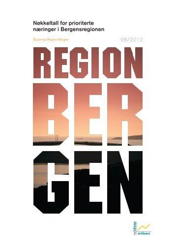 Nøkkeltall for prioriterte næringer i Bergensregionen - Business ...
