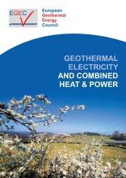 Geothermal - European Renewable Energy Council