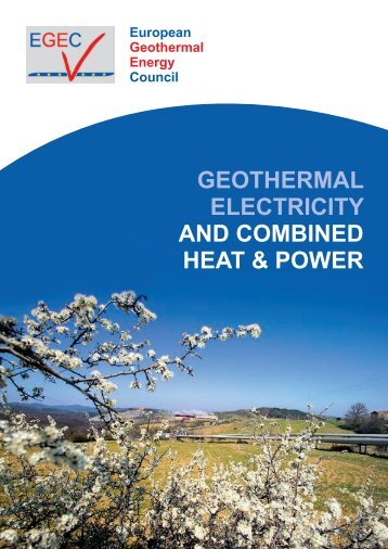 Geothermal - European Renewable Energy Council