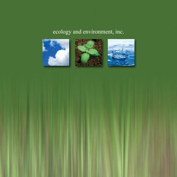 ecology and environment, inc. - Ecology & Environment