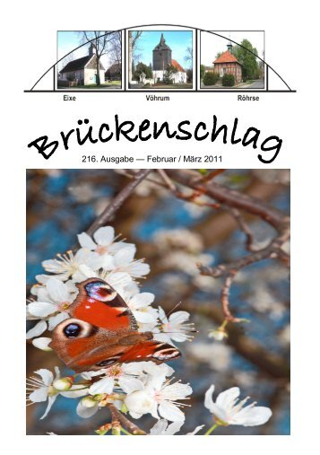 216. Ausgabe — Februar / März 2011 - Kirchen im Landkreis Peine