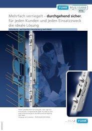 Fuhr Multisafe 855 - Herling Baubeschlag GmbH