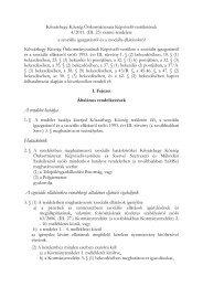 4/2011. (III. 25.) önkormányzati rendelet a szociális igazgatásról és a ...