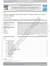 Starvation physiology: reviewing the different str... - ResearchGate