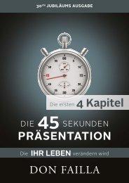 DIE 45 SEKUNDEN PRÄSENTATION von Don Failla - die vollen 4 Kapitel gratis