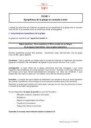 FICHE 1 Symptômes de la grippe et conduite à tenir - CDG38