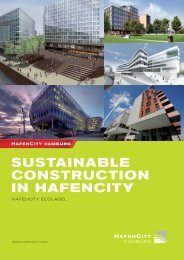 Sustainable Construction in HafenCity
