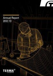 Annual Report 2012 13 - terma