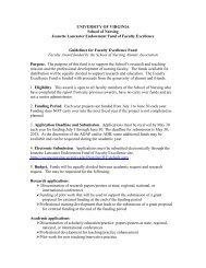 2013 Jeanette Lancaster Guidelines - School of Nursing - University ...