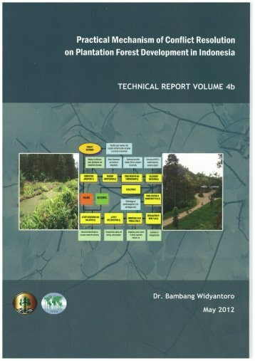 Technical Report Volume 4b - ITTO