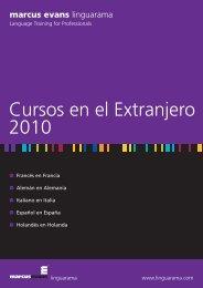 International Courses Brochure - Linguarama