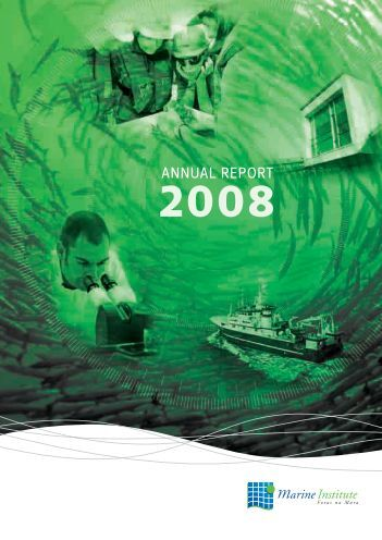 ANNUAL REPORT - Marine Institute Open Access Repository