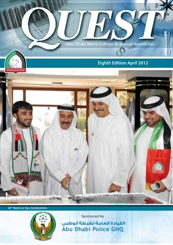 Eighth Edition April 2012 - Abu Dhabi Men's College - Higher ...