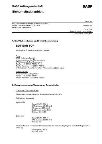 Butisan Top - Getreide AG