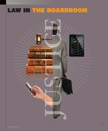 Law in the boardroom (PDF) - FTI Consulting