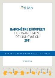 BarOmèTre eurOpÉeN du Financement de l'innovation 2011