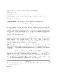 Opgaven groep α week 7: inleverdatum 5 januari 2013.