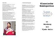 Klassische Homöopathie - Frank Häusler