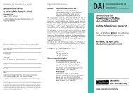 Update öffentliches Baurecht Fachinstitute für Verwaltungsrecht/Bau ...