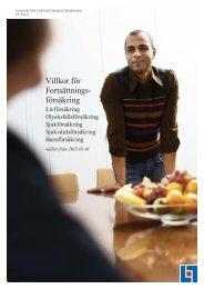 Fortsättningsförsäkring 2012 (FF910:2) - Länsförsäkringar