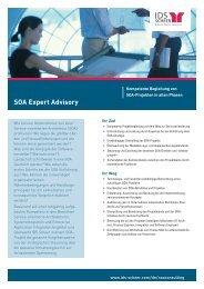 SOA Expert Advisory - IDS Scheer AG