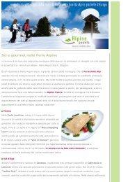 Sci e gourmet nelle Perle delle Alpi - Alpine Pearls