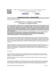 Campagne d'Affiches du SECO: Le CRAN dénonce la stigmatisation ...
