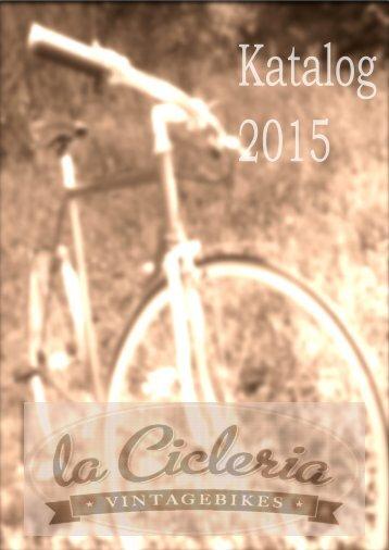 La Cicleria Katalog 2015