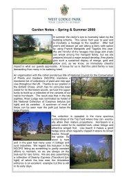 Spring 2008 garden notes PDF... - Beales Hotels