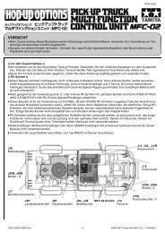 53957 MFC-02 Bedienungsanleitung.pub - Tamiya