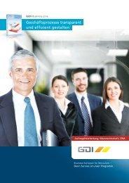Geschäftsprozesse transparent und effizient gestalten - GDI Software