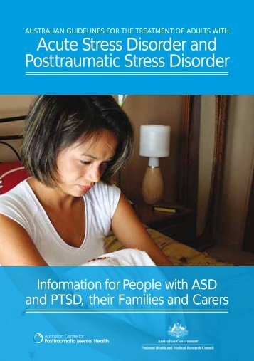 Information for People with ASD and PTSD - Australian Centre for ...