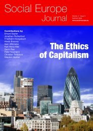 The Ethics of Capitalism - Social Europe Journal