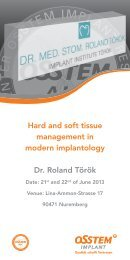 Hard and soft tissue management in modern ... - Kompodent